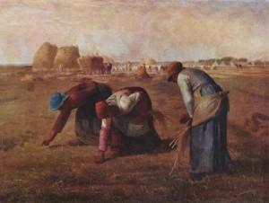 Le spigolatrici (Jean-François Millet, 1857)