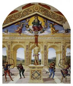 Martirio di San Sebastiano (Il Perugino, 1505)