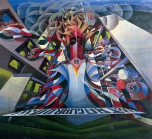 Trittico della velocità (Gerardo Dottori, 1925-1927)