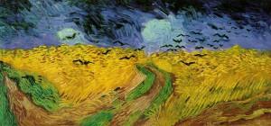 Campo di grano con volo di corvi (Vincent Van Gogh, 1890)