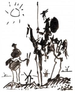 Don Chisciotte (Pablo Picasso, 1955)