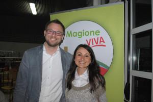 Giacomo Chiodini ed Eleonora Maghini ad Agello