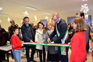 San Feliciano, inaugurazione scuole (foto Alice Guerirni)