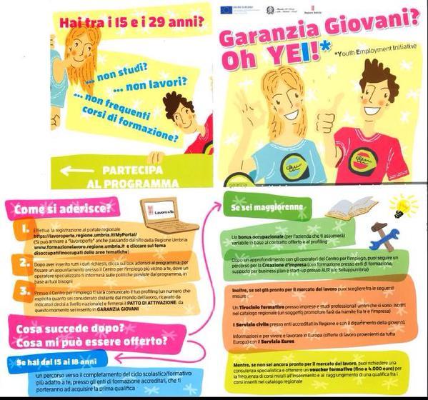 Garanzi Giovani Umbria Magione