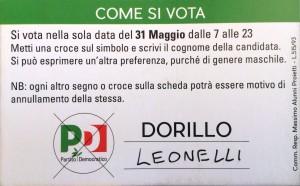 Giacomo Leonelli, Alessia Dorillo