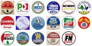 Simboli elezioni regionali Umbria 2015