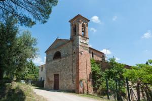 Borgogiglione di Magione, chiesa di San Donato (foto Lorenzo Dogana