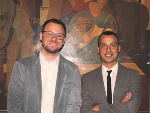 Giacomo Chiodini e Cristian Betti, presentazione progetto cablaggio aree artigianali Corciano e Magione