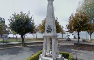San Feliciano lungolago Trasimeno, monumento ai caduti giardini pubblici