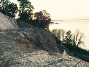 Frana di Sant'Arcangelo di Magione sul lago Trasimeno