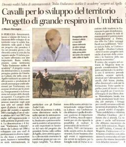 Gianluca Laliscia, Italia Endurance ad Agello