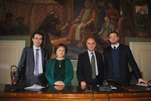 Protocollo antimafia Magione, il prefetto De Miro ed il sottosegretario Bocci a Magione3