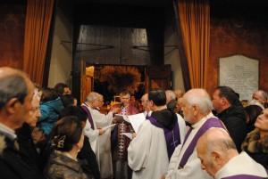 Apertura Porta Santa Giubileo a Montemelino di Magione