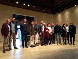 Brunello Cucinelli e i sindaci del Trasimeno