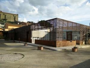 San Feliciano, risanamento esterni Museo della Pesca (2)