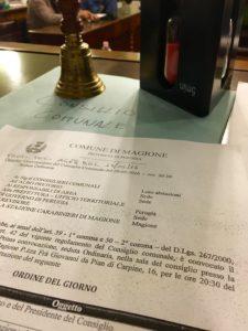 Consiglio comunale di Magione, seduta di approvazione dei bilanci consultivo e previsionale
