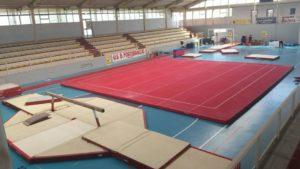 Palazzetto sport Magione, campionato interregionale di ginnastica artistica allieve