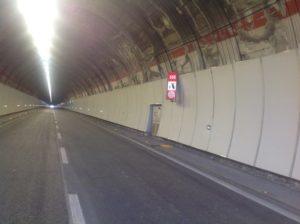 Raccordo Perugia Bettolle, lavori completati nella galleria Magione a Torricella