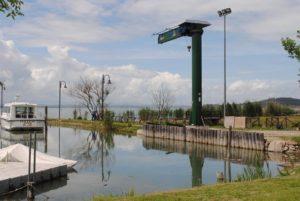 San Feliciano, inaugurazione camper service lungolago Alicata Trasimeno Isola Polvese (1)