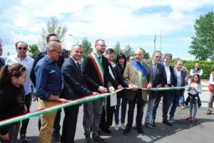 San Feliciano, inaugurazione camper service lungolago Alicata Trasimeno Isola Polvese