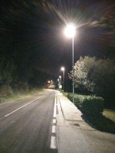 Sant'Arcangelo, dal Comune arrivano nuovi pali led lungo la strada regionale 599