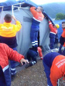 Amatrice, volontari Misericordia Magione in soccorso alle popolazioni colpite dal sisma (1)