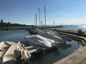 Darsena di Torricella, sistemazione a cura della Uisp Trasimeno a vela che si è aggiudicata la concessione da parte della Provincia