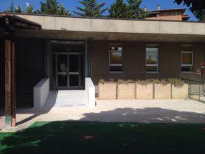 Magione, lavori all'asilo nido comunale con nuova rampa d'accesso per disabilità